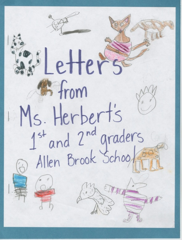 Letters from Ms. Herbert's 1st and 2nd graders