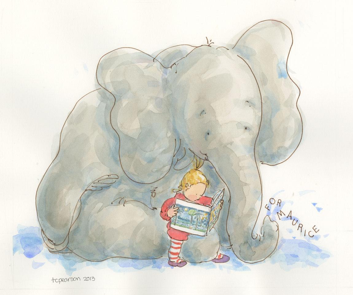 elephant u0027s story u2026a new book an elephant head to bea u2026 tcp