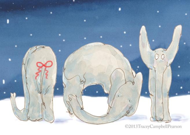 Elephants celebrating the New Year....