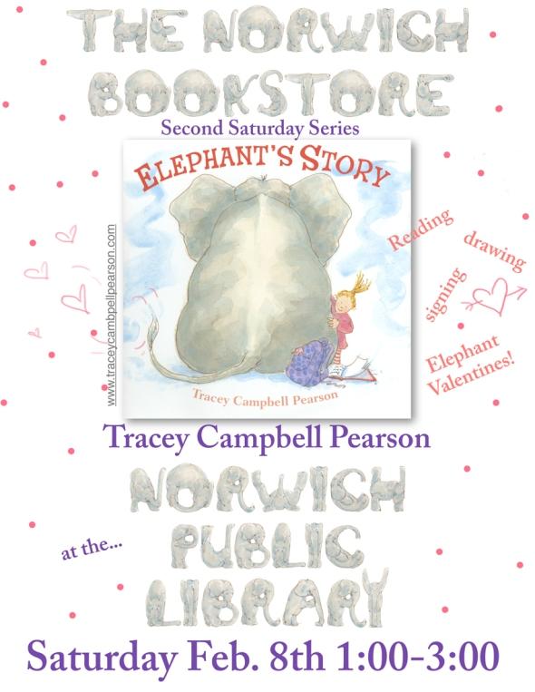 Elephant visits Norwich, VT.