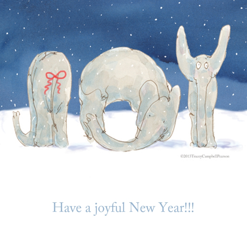 Elephant Joy for the new year!