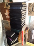 Just one tower of sketchbooks…tcp