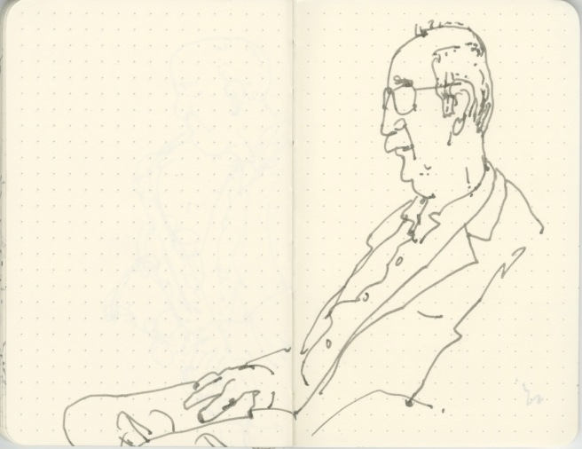 Sketchbook-Concert Sketches-Jazz-Flynn Space-Brian McCarthy- byTracey Campbell Pearson 4